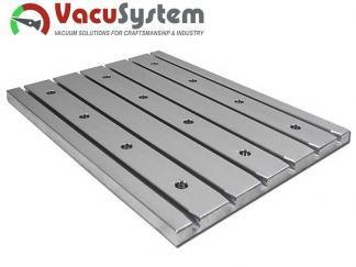 Płaski aluminiowy stół teowy VacuSystem vacuum-cnc
