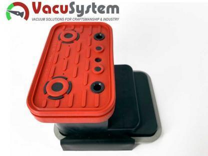 Saugplatte 125x75 Ersatzdichtung, Reibplatte, Saugplatte der Vacuumblocksauger VCBL 125x75 Schmalz