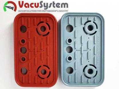 Ersatzdichtung, Reibplatte, Saugplatte der Vacuumblocksauger VCBL 125x75 Homag Ima