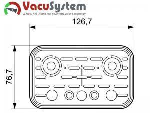 Zamiennik guma do przyssawek VCBL 125x75