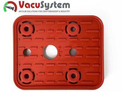 Saugplatte 140x115 oben Ersatzdichtung, Reibplatte, Saugplatte der Vacuumblocksauger VCBL 140x115