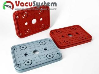 Ersatzdichtung, Reibplatte, Saugplatte der Vacuumblocksauger VCBL 160x115 Homag Ima