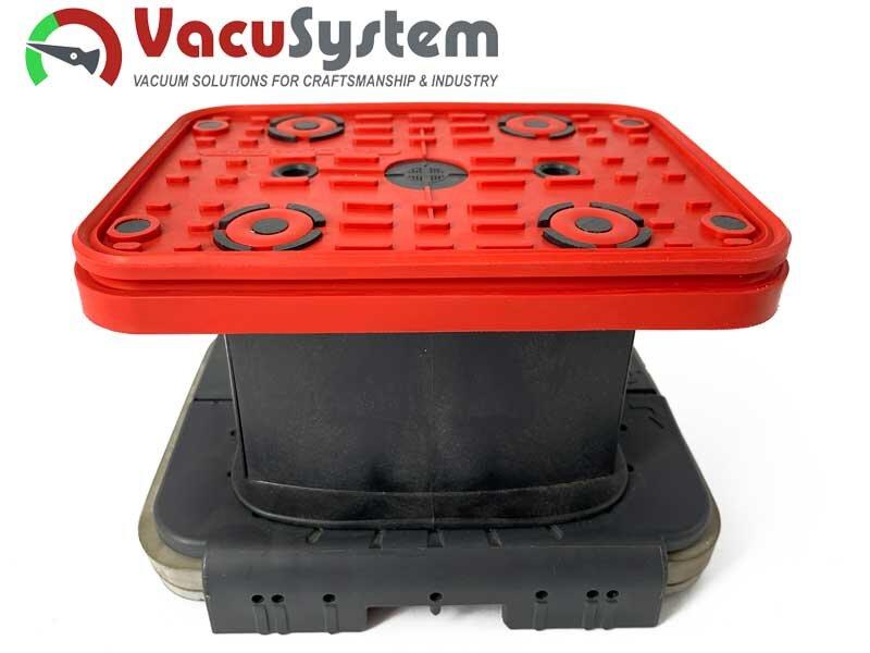 Ersatz-Saugplatten, Ersatzdichtung, Reibplatte, Saugplatte der Vacuumblocksauger VCBL 160x115 Homag Ima
