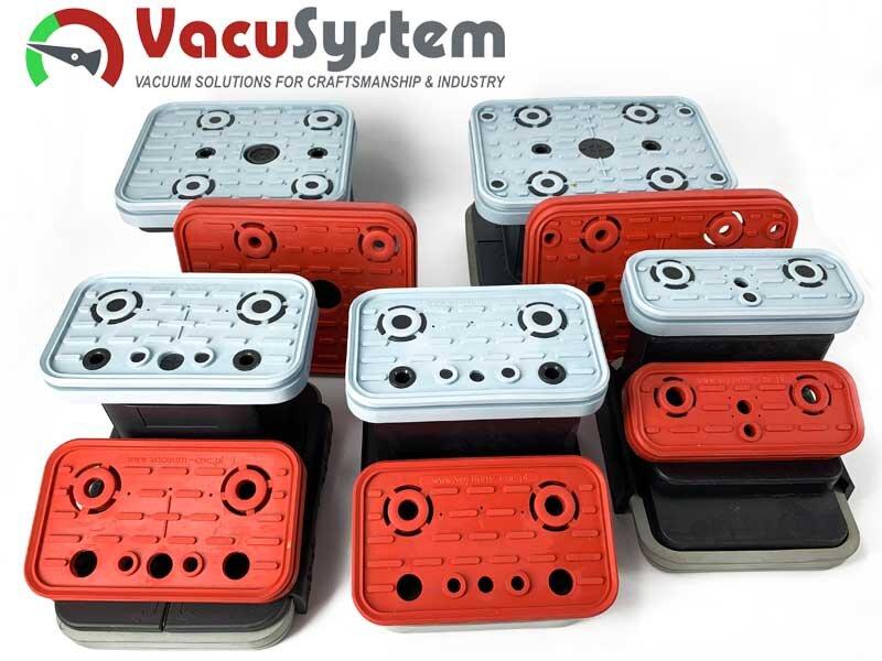 Zamienniki uszczelek gum do przyssawek cnc bloków podciśnieniowych VCBL