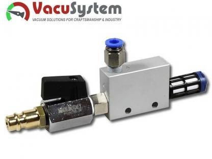 eżektor, inżektor, pompa pneumatyczna, MVE-VT 1,6