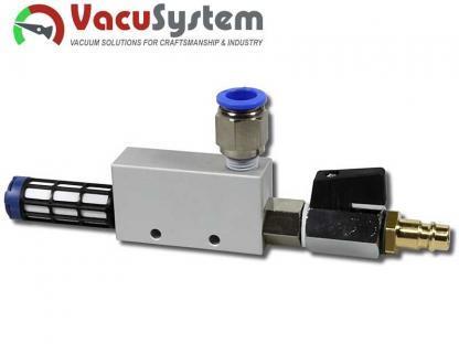 eżektor, inżektor, pompa pneumatyczna, MVE-VT 3,8