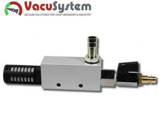 eżektor, inżektor, pompa pneumatyczna, MVE-VT 6,6