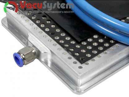 Stół próżniowy podciśnieniowy rastrowy oczkowy Vacu-Plate-LR Basic