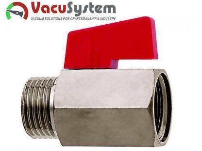 Podciśnieniowy zawór kulowy MKV Mini