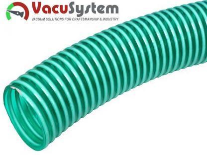 Spiralny przewód podciśnieniowy do pomp bocznokanałowych i dmuchaw podciśnieniowych