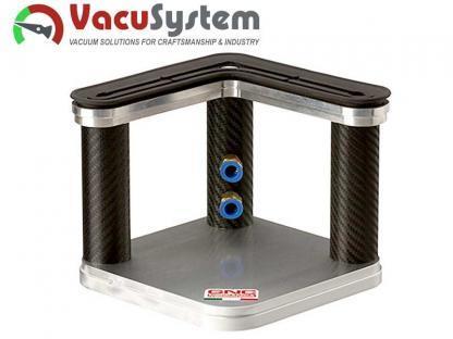Przyssawka CNC narożna do stołów gładkich i panelowych