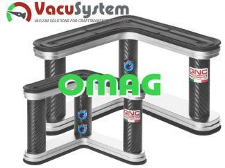 Przyssawki narożne do CNC Omag