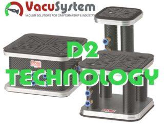 Przyssawki kwadratowe do D2 Technology