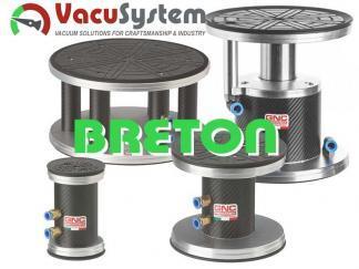 Przyssawki okrągłe do CNC Breton