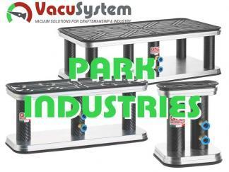 Przyssawki prostokątne do CNC Park Industries