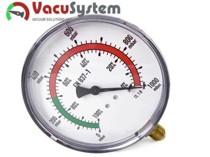 wakuometr manowakuometr próżniomierz 100 mm