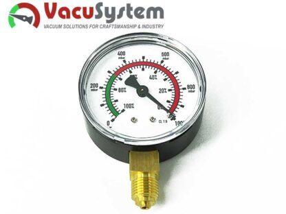 wakuometr manowakuometr próżniomierz 63 mm