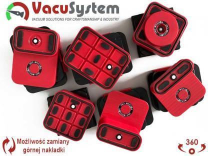 Przyssawki CNC modułowe obrotowe VacuSystem vacuum-cnc