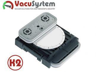 Blok podciśnieniowy VCBL-K2 125x75x50 360 Blok podciśnieniowy obrotowy VCBL-K2 120x50x50 10.01.12.00874