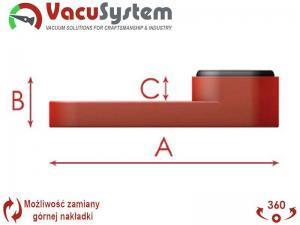 Nakładka przyssawki CNC Busellato wymiary