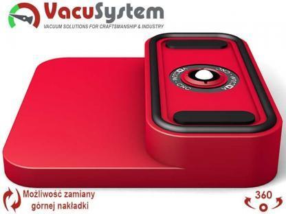 nakładka przyssawki CNC SCM Accord Morbidelli Author - Flex FlexMatic 145x70 mm