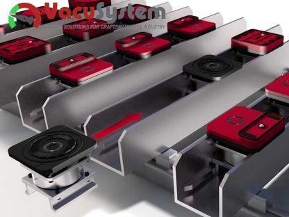 Stopa przyssawki cnc SCM Morbidelli mocowana do cylindra