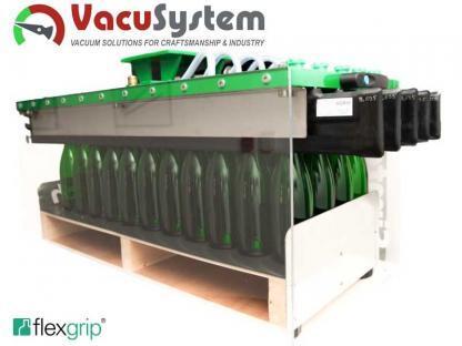 Chwytak listwowy pneumatyczny do paletyzacji butelek GGR