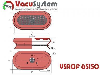 przyssawki do miękkich serów VSAOF wymiary