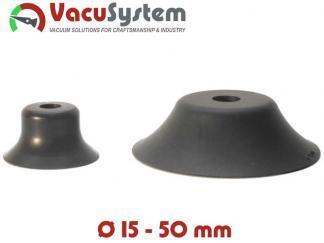 Przyssawki płaskie okrągłe VPG 15-50 mm