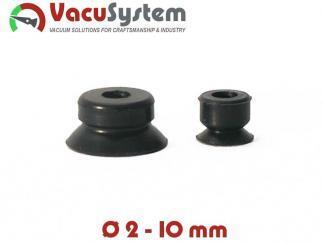 Przyssawki płaskie okrągłe VPG 2-10 mm