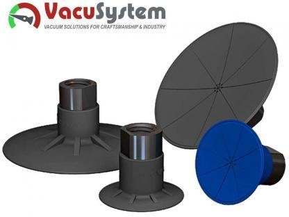 Super płaskie przyssawki VPSC do kompozytów i wrażliwych powierzchni