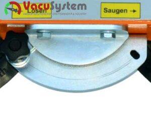 Sterowanie manualne chwytaka do płyt warstwowych