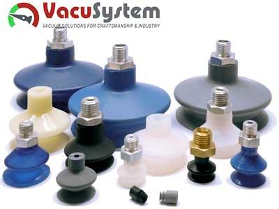 Przyssawki mieszkowe 1,5 fałdy VSA Coval podciśnieniowe próżniowe