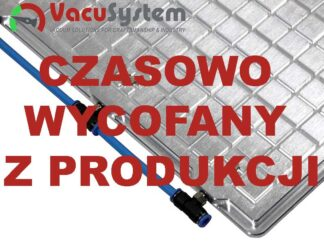 Vacu-Plate-R Novice – rastrowe stoły podciśnieniowe do lekkich prac