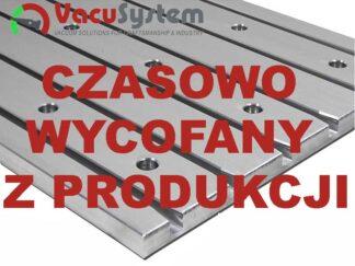 Aluminiowe płaskie stoły teowe H=12mm